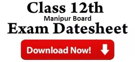 Manipur Board 12th Time Table 2018